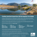 Crowley Lake Boat Inspections Will Be Required This Spring