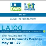 LADWP in the Community Newsletter – May 2021