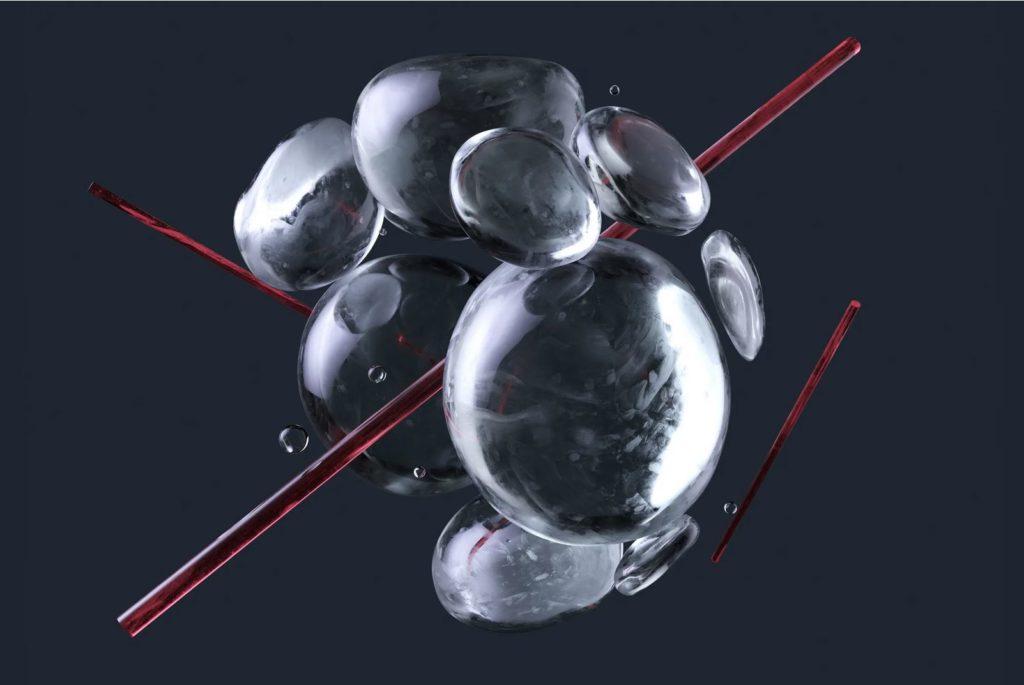 Image of a water molecule