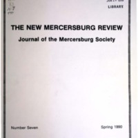 The New Mercersburg Review, no. 7