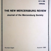 The New Mercersburg Review, no. 8