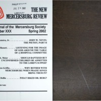 The New Mercersburg Review, no. 30