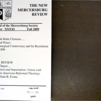 The New Mercersburg Review, no. 41