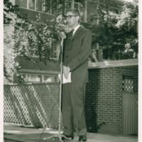 Robert V. Moss Dedicates New Campus Apartments