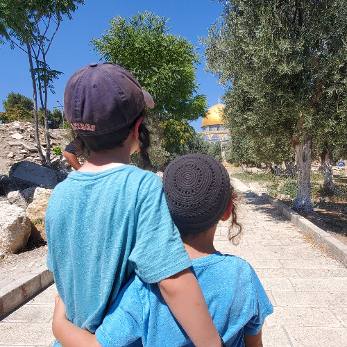From Chickasaw Oklahoma to the Temple Mount