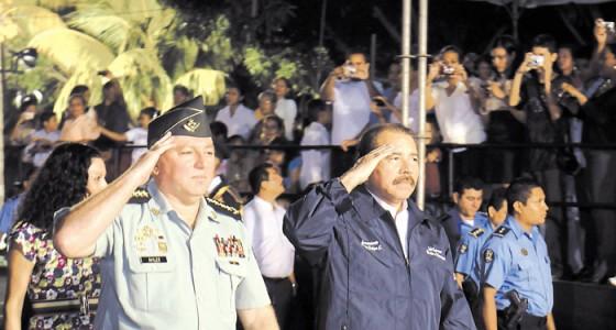 El Ejército de Nicaragua tiene poderes por encima del poder civil para aplicar la Ley de Seguridad Soberana. LA PRENSA/ ARCHIVO