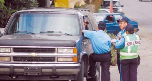 Policía de Tránsito de Managua, Nicaragua. LA PRENSA.