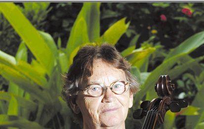 Irma Koch, organizadora del Concierto a Cuatro cuerdas. LAPRENSA/ARCHIVO