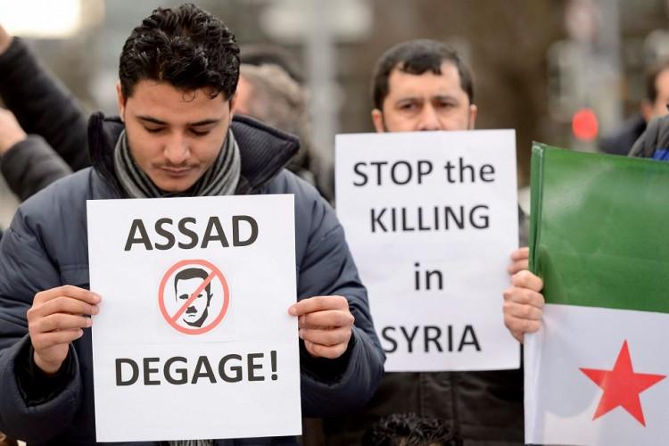 Siria, conflicto, Oposición Siria
