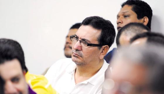 El exmagistrado sandinista Julio César Osuna, condenado por crimen organizado a 23 años, goza de libertad. LA PRENSA/ M. ESQUIVEL