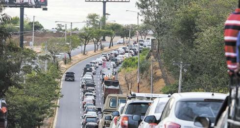Tráfico,Managua