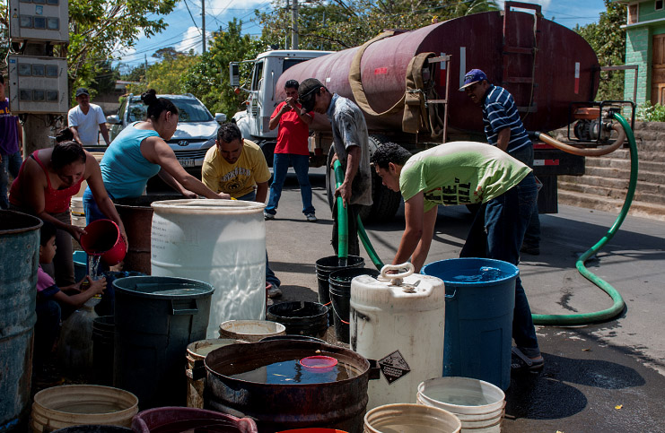 Crisis de agua,fuentes subterráneas, Managua, agua