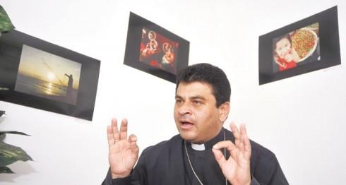 Monseñor Rolando Álvarez Lagos, miembro de la Conferencia Episcopal de Nicaragua. LA PRENSA/ARCHIVO.