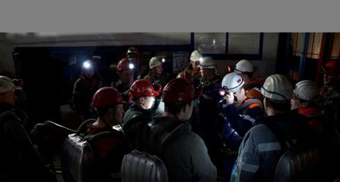 Foto ilustrativa sobre el derrumbe en mina de Perú. LA PRENSA/Agencias.