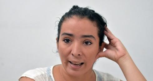 Managua, Nicaragua. 03/03/2016. Gabriela Garcia, vocera del Movimiento Democrático Nicaragüense (MDN). Oscar Navarrete/LA PRENSA.