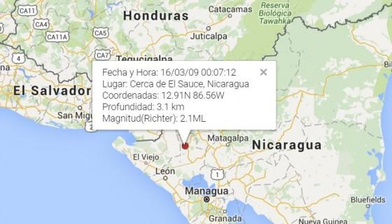 sismo,Nicaragua