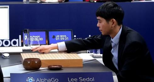 Lee Se-Dol, Alphago