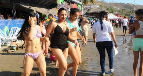 San Juan del Sur en Rivas, recibe la visita de miles de veraneantes en temporada de verano. Es una de las preferidas por turistas extranjeros. LA PRENSA/R. ORTEGA