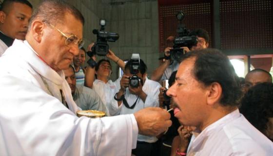 Cardenal Miguel Obando, Daniel Ortega