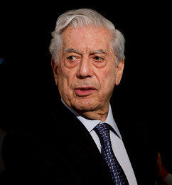 Mario Vargas Llosa, escritor, Perú