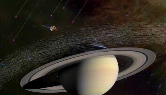 sonda Cassini, Saturno, polvo estelar