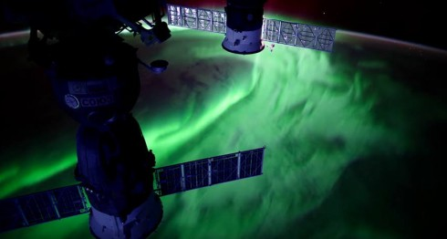 auroras boreales, NASA, Estación Espacial Internacional