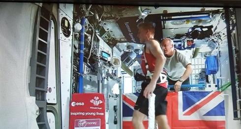 Tim Peake, astronauta, maratón de Londres