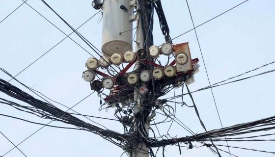 Red de Electricidad, Enatrel, Disnorte- Dissur, Apagones