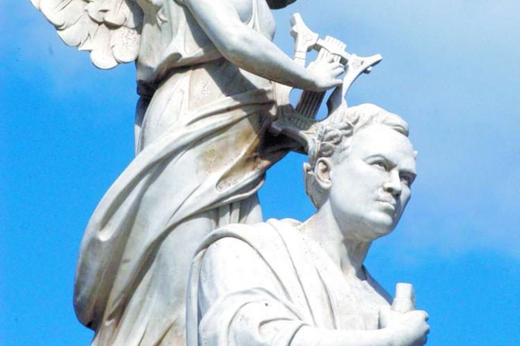 Monumento de Rubén Darío.