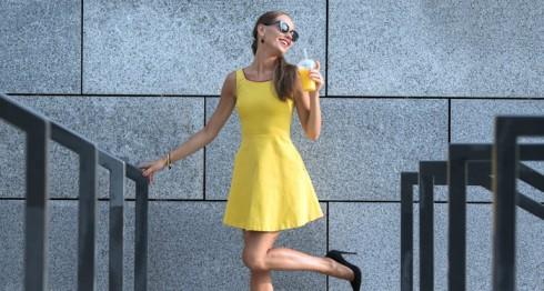 Vestirse de amarillo.
