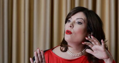 María Fernanda Flores de Alemán. LA PRENSA/Uriel Molina.
