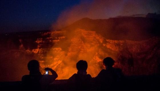 Nicaragua, volcán masaya, ineter, científicos norteamericanos, volcanes