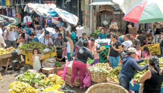 Mercados,Nicaragua,desorden