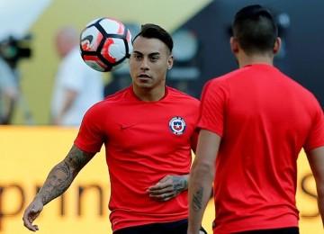 Chile llega con buen ritmo goleador. LAPRENSA/EFE