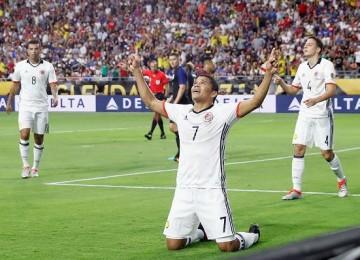 Carlos Bacca, goleador de Colombia. LAPRENSA/EFE