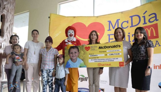 Conanca, Donativo, McDonald's