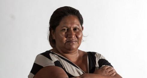 Francisca Ramírez Torres, lideresa de la lucha anticanal. LAPRENSA/ Jorge Torres.