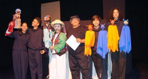 Teatro de Títeres Guachipilín celebra con la puesta en escena de Cipaltonal, tres décadas en el arte.