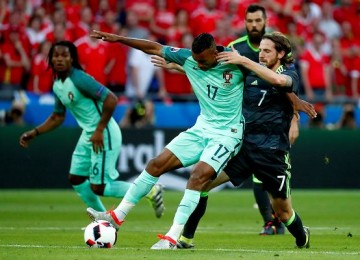 Nani, lo intenta por Portugal. LAPRENSA/EFE