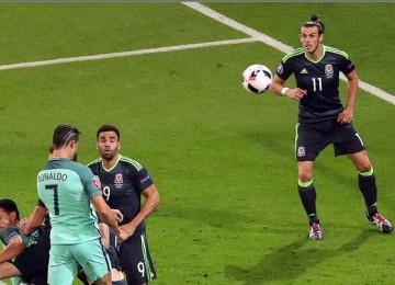 Cristiano marcó un gol y dio una asistencia.LAPRENSA/EFE