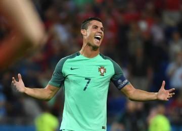 Cristiano Ronaldo lidera Portugal. LAPRENSA/EFE