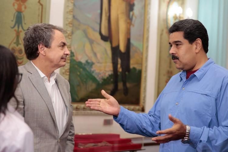 Venezuela, Maduro,Zapatero,Vaticano