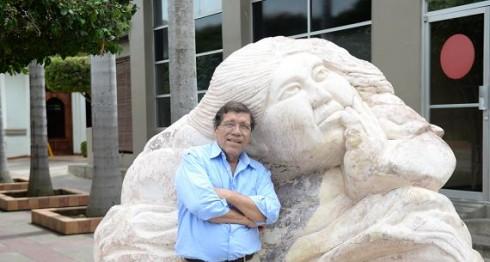 """Erasmo Moya """"nunca se doblegó ante la piedra, que muchas veces sale muy dura"""", dijo una vez su maestro Fernando Saravia. LAPRENSA/CARLOS VALLE"""