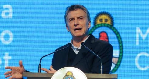 El presidente de Argentina, Mauricio Macri. LA PRENSA/EFE/Presidencia de Argentina