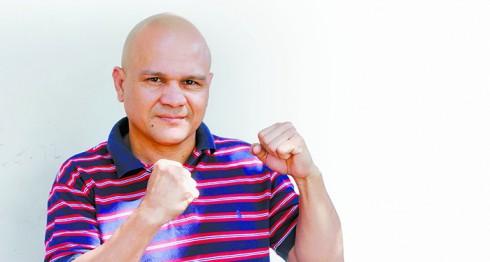 Rosendo Álvarez, ex bicampeón mundial. LA PRENSA/Alfredo Zuniga