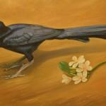 Zanate, pintura de Marcelo Ampié.LAPRENSA/LISSA VILLAGRA