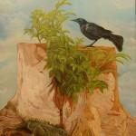 Renacido,Zanate, pintura de Marcelo Ampié.LAPRENSA/LISSA VILLAGRA
