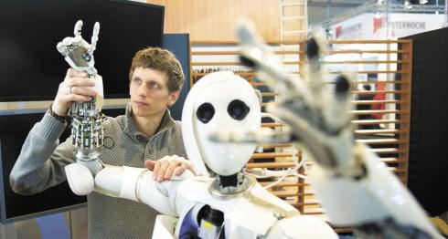inteligencia artificial, robots, humanos