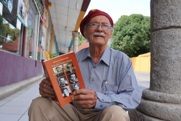 Rubén Darío, El libro Parelelismo entre Rubén Darío y Salomón de la Selva es un trabajo útil para maestros de literatura dice su autor Nicolás Navas Navas. LAPRENSA/ARNULFOAAGÜERO
