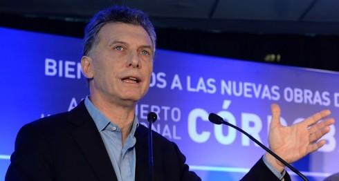 Mauricio Macri, presidente de Argentina. LA PRENSA/EFE/Presidencia de Argentina